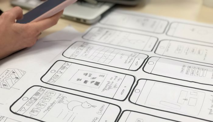 Career Wireframes UX, UI and CRO